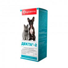 Декта-2 капли глазные кошек и собак 5 мл Api-San Россия