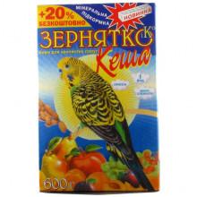 Корм для попугаев волн.Зернятко Кеша 600г. УП 12  \  Яш-868