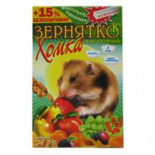 Корм для хомяка Зернятко Хомка 550 г УП 12