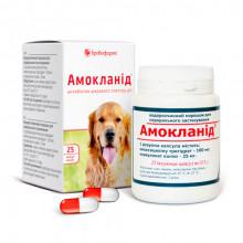 Амокланид капсулы 0,5 г №25 Бровафарма -