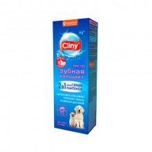 Зубная паста для собак и котов 75 мл Cliny Экопром