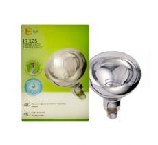 Лампа ИК 175 W 240 V  Ziling IR 125 твердое стекло белая Китай
