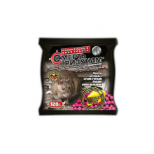 Смерть грызунам гранулы 120 г сыр 100 шт от крыс и мышей