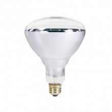 Лампа ИК 175 W 240 V  LuxLight IR R125 твёрдое стекло белая Китай