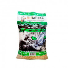 Песок-опилки 3кг АВТО Pure Cat 5шт