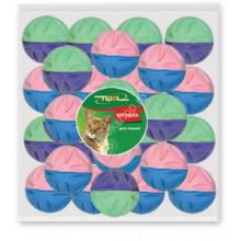 Іграшка кішок М'яч зефірний для гольфу двоколірна 4,5 см в упаковці №4 BALL29N