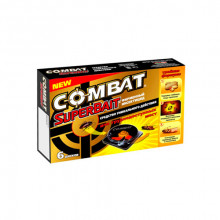 Ловушка Combat от тараканов  6 шт