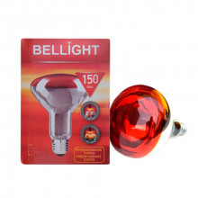 Лампа ИК ІЧВ 150W Е27 Польша BelLight БелЛайт