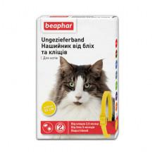 Бефар 35 см ошейник от блох клещей для кошек желтый Вeaphar 12619 - ИНСЕКТОАКАРИЦИДНЫЕ ОШЕЙНИКИ