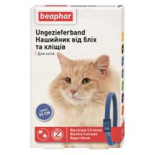 Бефар 35 см ошейник от блох клещей для кошек синий Вeaphar 13244 - ИНСЕКТОАКАРИЦИДНЫЕ ОШЕЙНИКИ