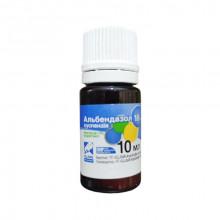 Альбендазол 10% 10 мл суспензия антигельминтная Якісна допомога OLKAR - АНТИГЕЛЬМИНТИКИ (ПРОТИВОГЛИСТНЫЕ )