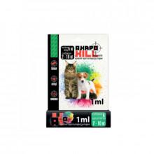 АкароКилл капли собакам от 2 до 10 кг 1 мл  №1  УЗВПП - ИНСЕКТОАКАРИЦИДНЫЕ КАПЛИ
