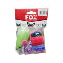 Набор игрушек для кошек FOX XW0337