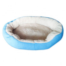Мягкое место для животных круглое синее 19-89-91 М