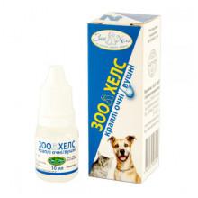 Капли глазные и ушные для кошек и собак 10мл ЗооХелс УЗВПП - КАПЛИ УШНЫЕ  И ЛОСЬОНЫ