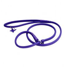Поводок-удавка Collar GLAMOUR круглая ширина10 мм длина 135 см фиолетовая - ОШЕЙНИКИ, АМУНИЦИЯ