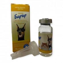 Барьер 10 мл капли глазные для кошек и собак Продукт