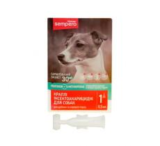 Семперо Sempero кали от блох и клещей для собак от 3-х кг 0,5 мл Vitomax 400051