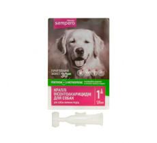 Семперо Sempero  кали от блох и клещей для собак от 10  кг 1,0 мл Vitomax  40010..