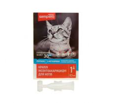 Семперо Sempero кали от блох и клещей для котов от 2-х кг 0,5 мл Vitomax  400052..