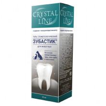 Зубастик гель 30 мл Crystal Line зоогигиенический стоматологический Apicenna Россия