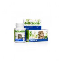 Фитомины № 100 для шерсти у котов Веда