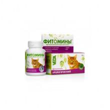 Фитомины № 100 урологический фитокомплекс для котов Веда