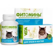 Фитомины № 100 для зубов и костей для котов Веда - ФитоМИНЫ,ФитоЭЛИТА