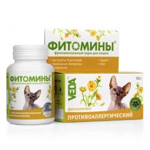 Фитомины № 100 против аллергии у котов Веда - ФитоМИНЫ,ФитоЭЛИТА