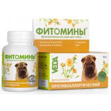 Фитомины № 100 против аллергии у собак Веда - ФитоМИНЫ,ФитоЭЛИТА