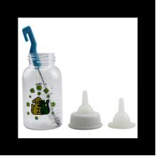 Бутылочка с соской поилка для домашних животных 120 мл 19 11